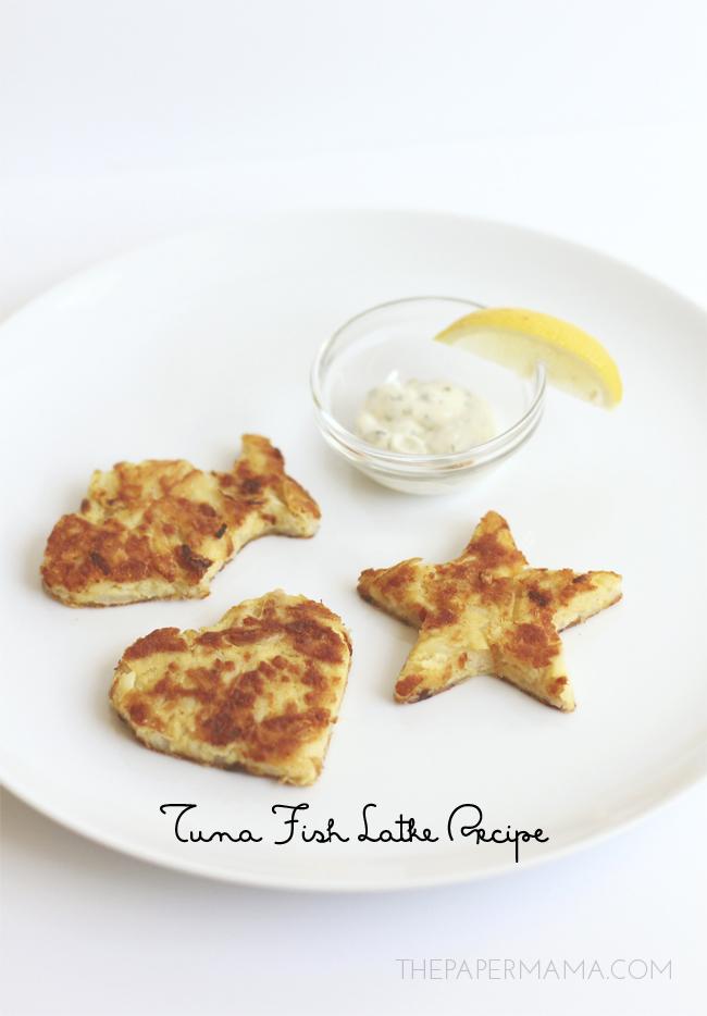 Tuna Fish Latke Recipe