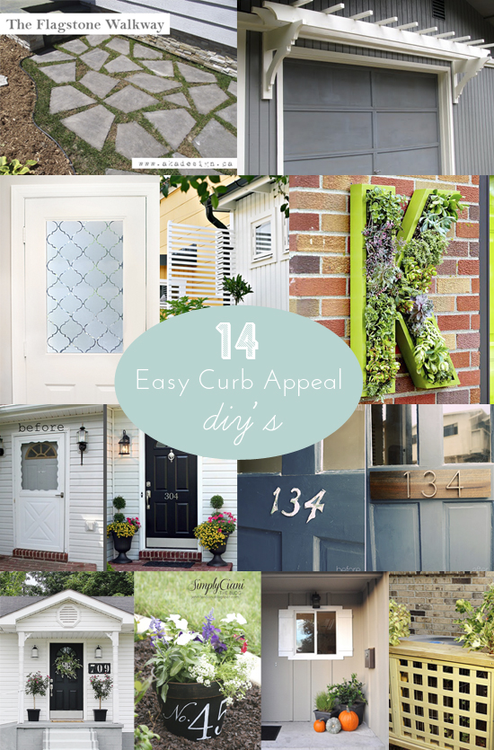 14 Easy Curb Appeal DIY's on BHG