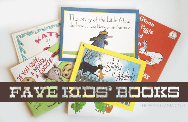 Fave Kids' Books // thepapermama.com