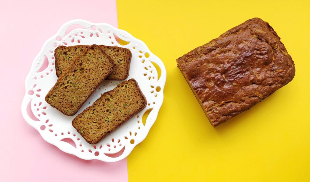 Grain Free Peanut Butter Zucchini Bread Recipe