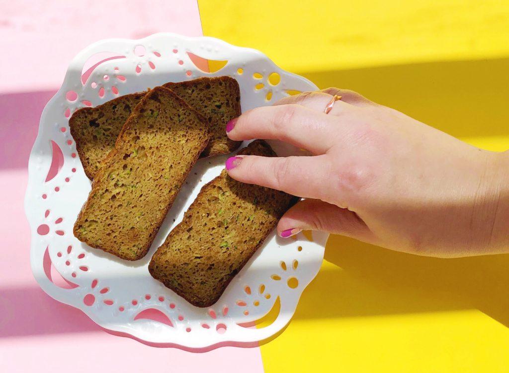 Grain Free Peanut Butter Zucchini Bread Recipe