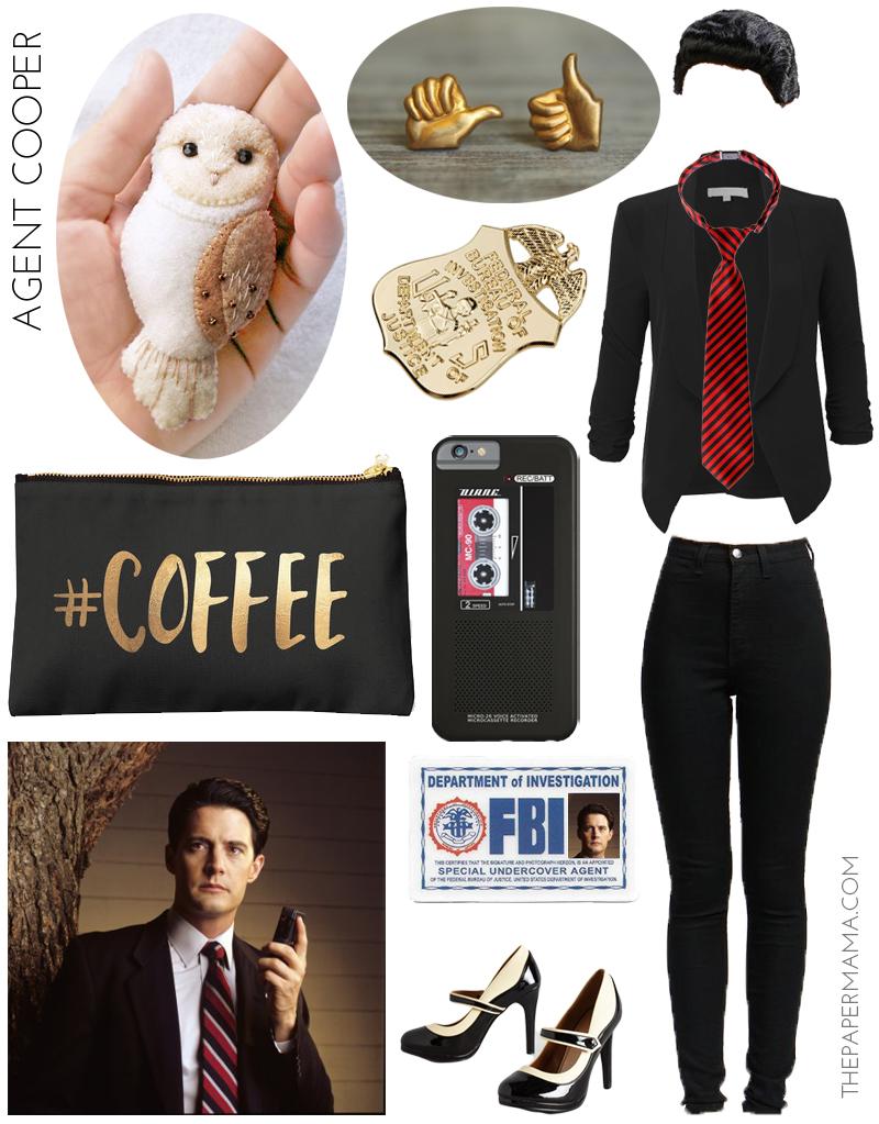 Agent Cooper Twin Peaks Costume