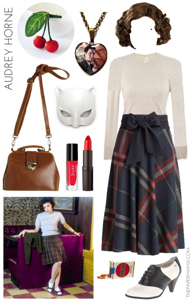 Audrey Horne Twin Peaks Costume