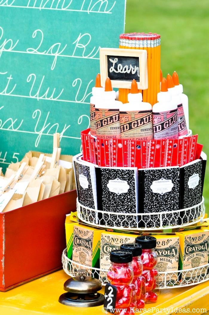 http://www.karaspartyideas.com/2013/08/back-to-school-vintage-schoolhouse-party-karas-party-ideas.html