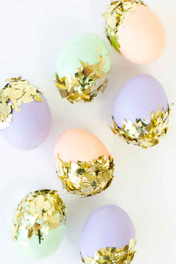 Confetti Dipped Eggs from Studio DIY.