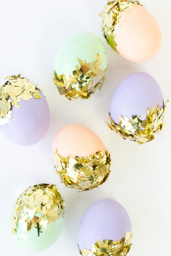 Confetti Dipped Eggs from Studio DIY.