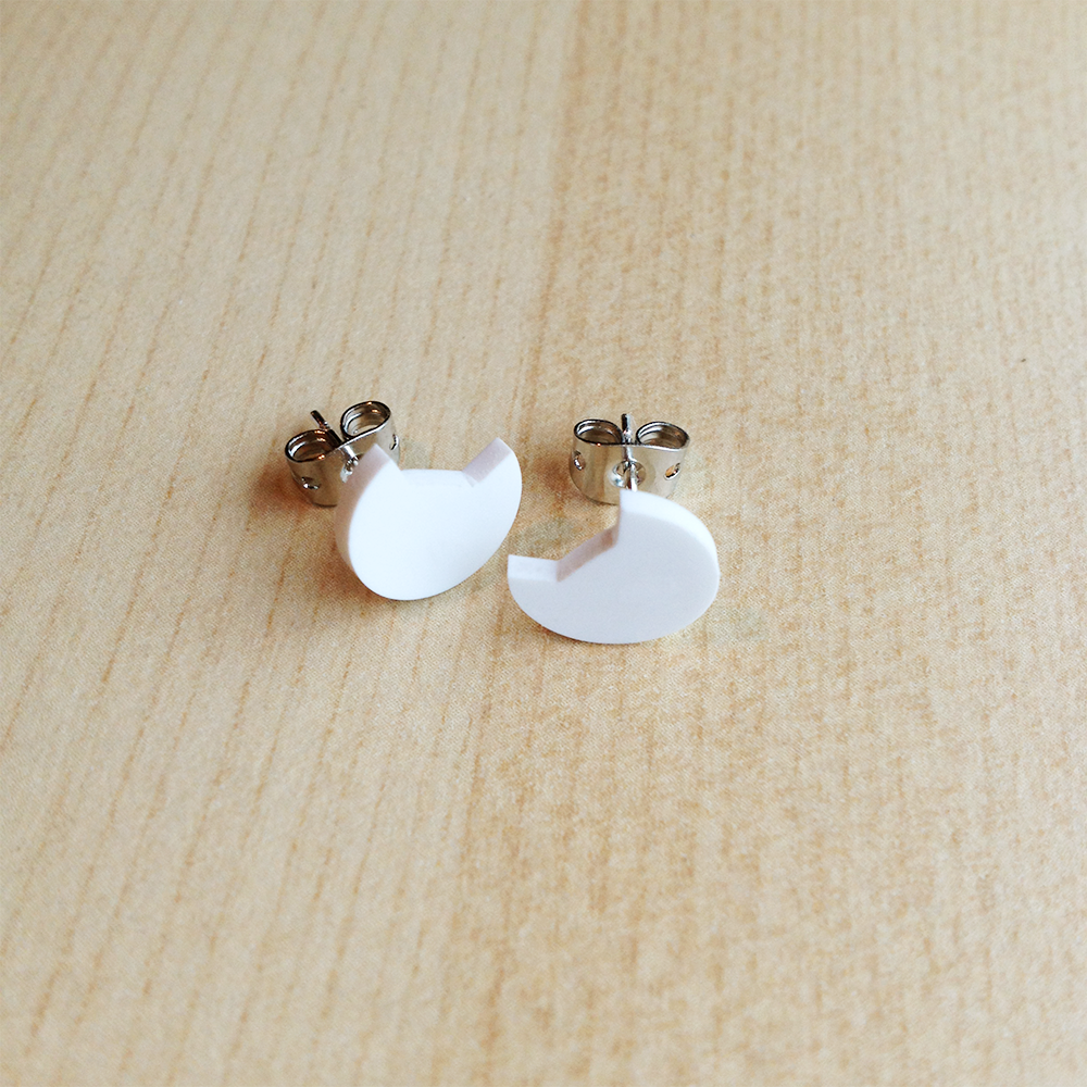 For the jewelry lover in your life, this Shrink Plastic Cat Earrings are purrrfect (see what I did there), from The Pink Samurai.