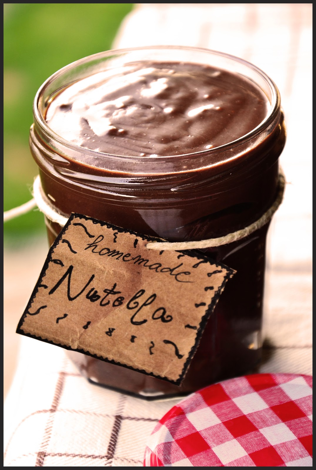 Save a bit of money and make some homemade nutella , The Eccentric Cook.