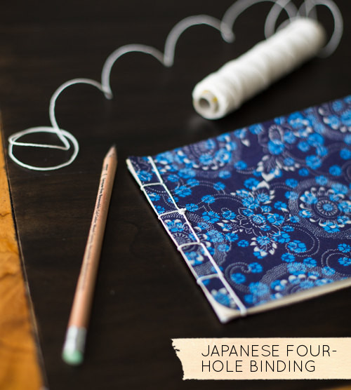 Japanese Four Hole Binding // Design Sponge
