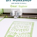 Cricut Explore + Craft Workshop