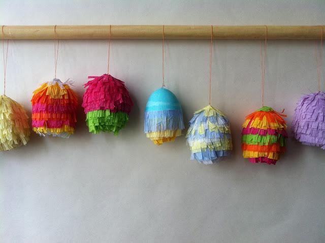 Easter Egg Pinatas