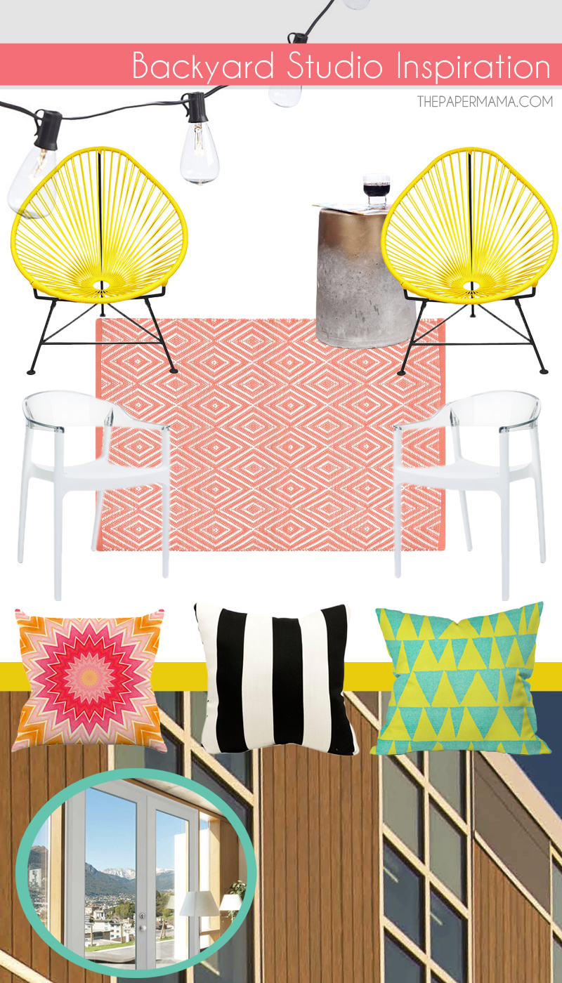 Backyard Studio Inspiration Board