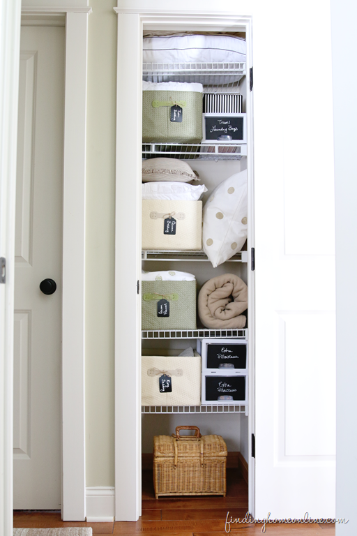 This post is full of great tips for organizing your closet, on Finding Home Farms.
