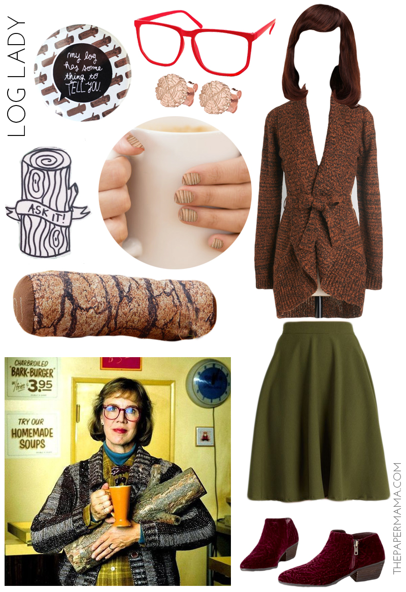 Log Lady Twin Peaks Costume
