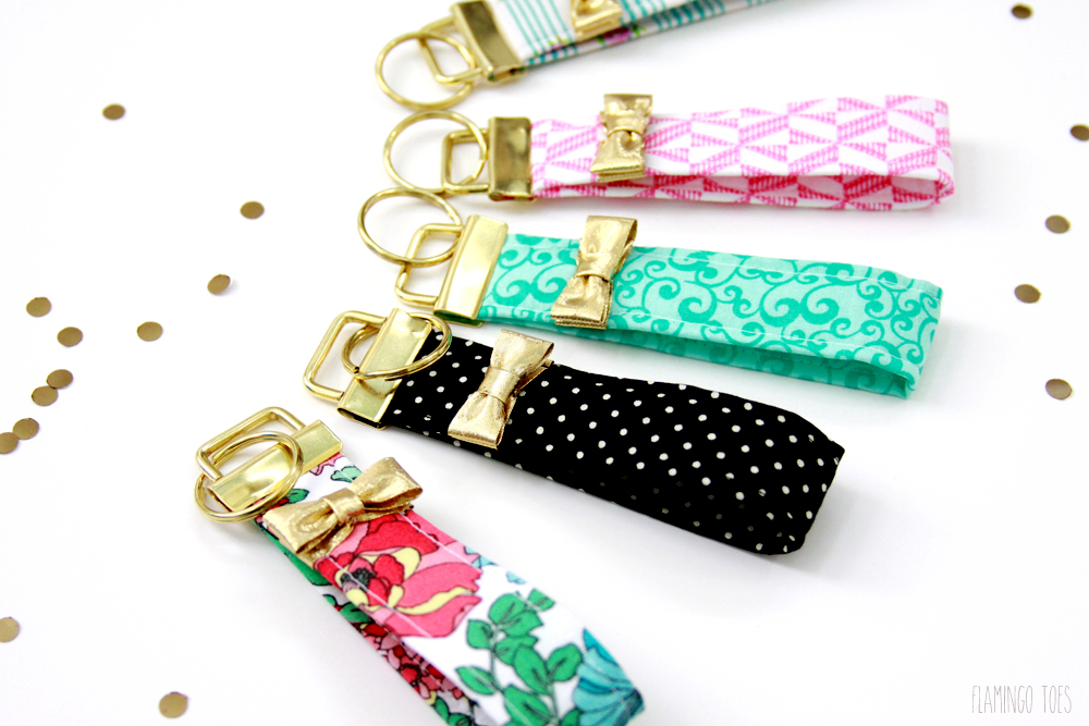 Pretty much every person has keys, so these DIY key fobs are the perfect little gift. Found on Lil Luna.