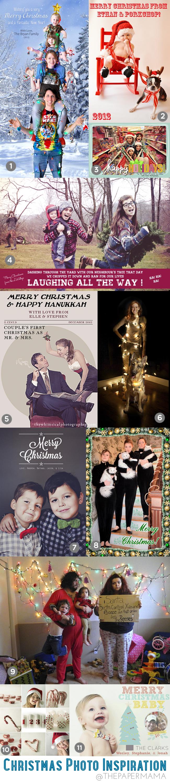 Christmas Photo Inspiration // thepapermama.com