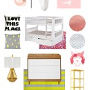The Paper Mama Kid Room // Wayfair