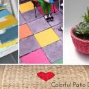 Colorful Patio DIY's