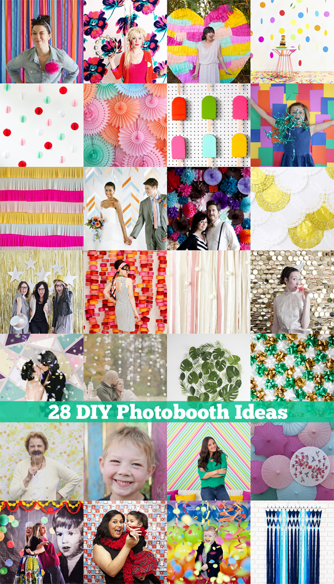 28 DIY Photobooth Ideas