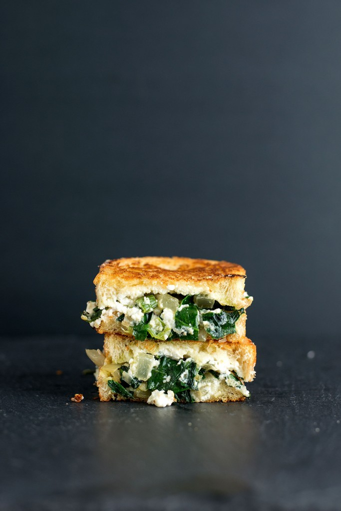 The Spanakopita Grilled Cheese // BS' in the kitchen