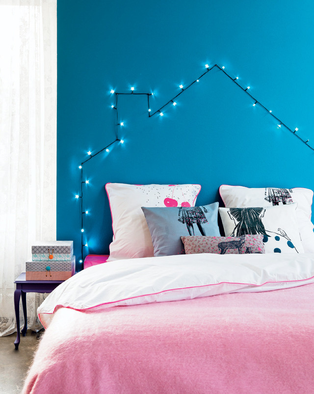 I love this string light house shape! Found on vtwonen.