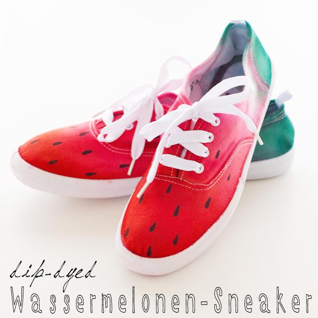 Watermelon Shoes DIY