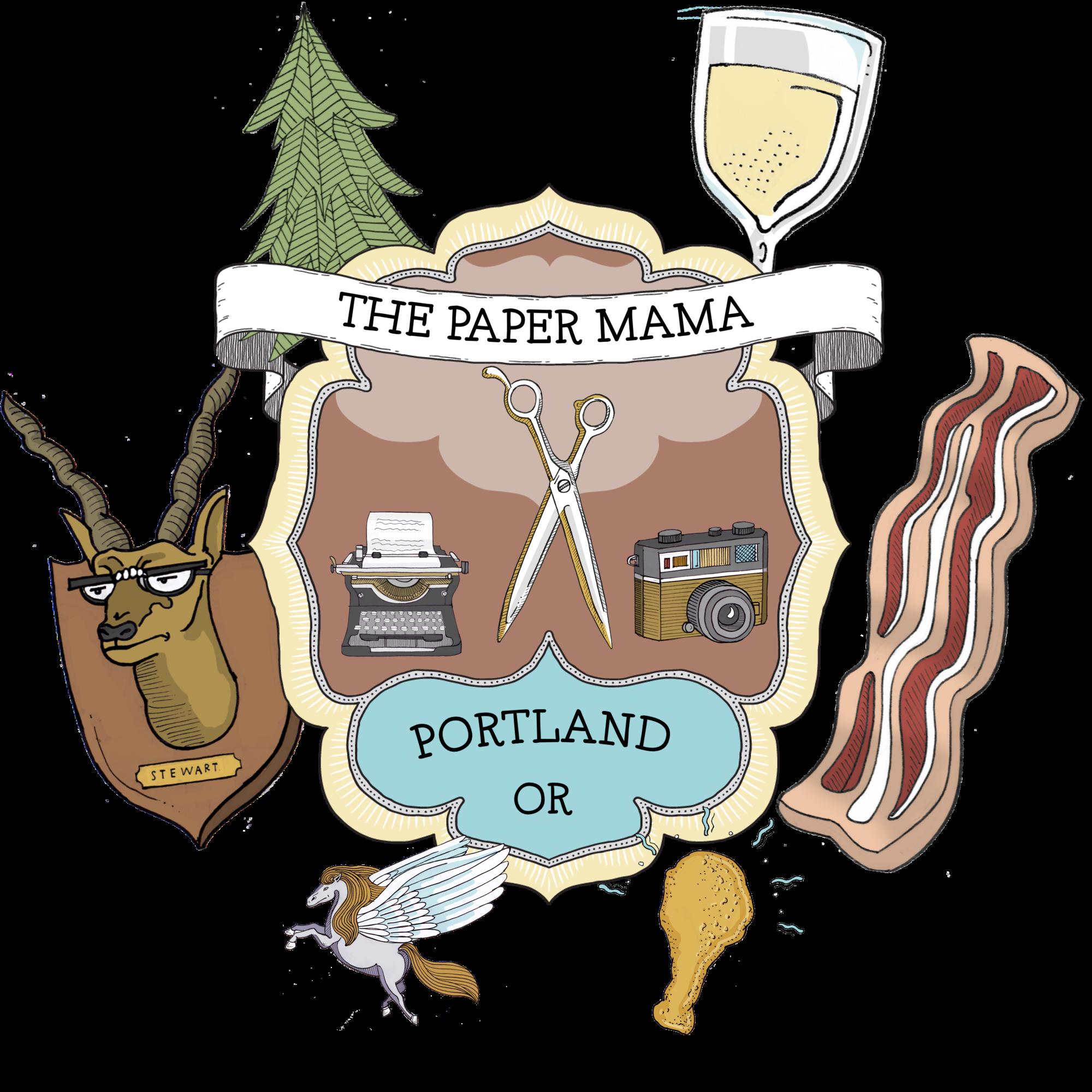 The Paper Mama Family Crest // thepapermama.com