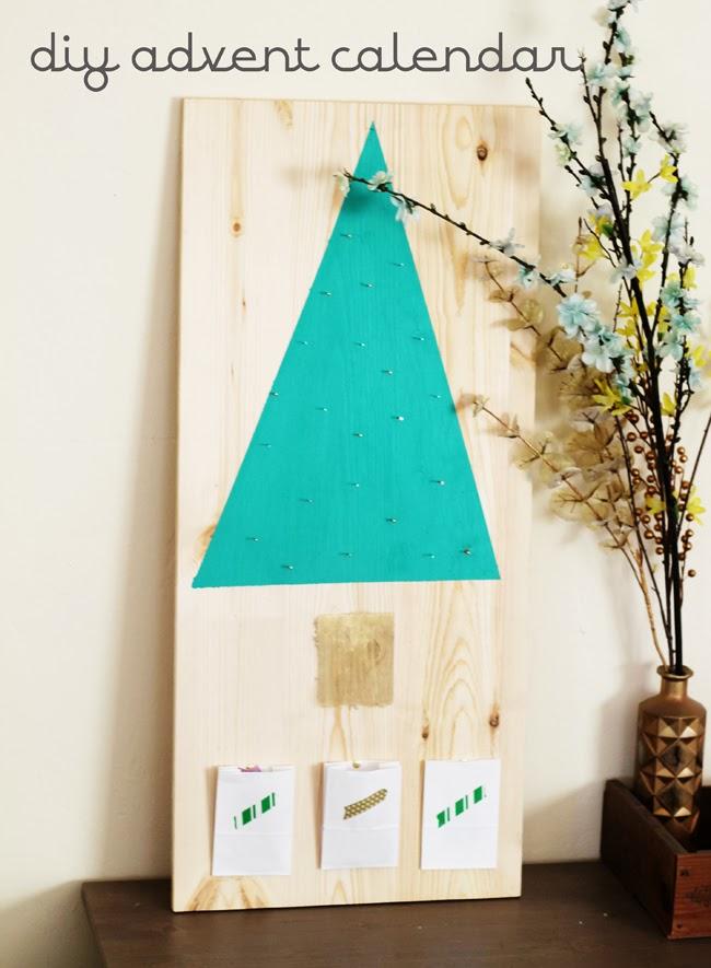 DIY Advent Calendar // thepapermama.com