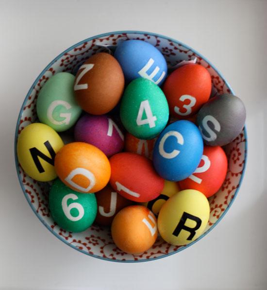New York Subway Easter Eggs from The SoHo.