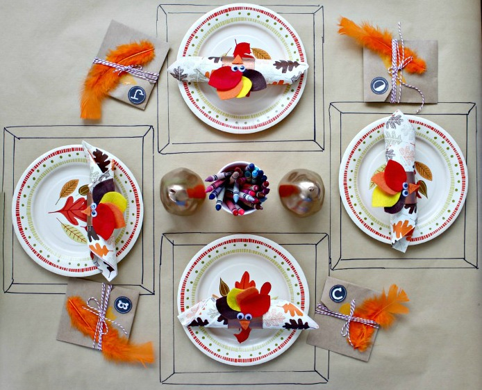 Day 4 Of 50 Diy Days Five Thanksgiving Table Ideas For The Kids