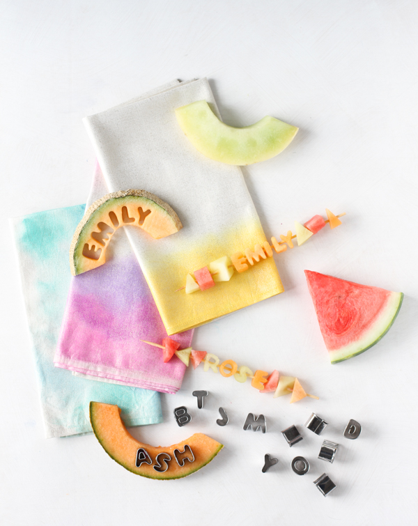 Fruit Kabob Place Markers/Snacks, on Creative Live made by Brittni Mehlhoff