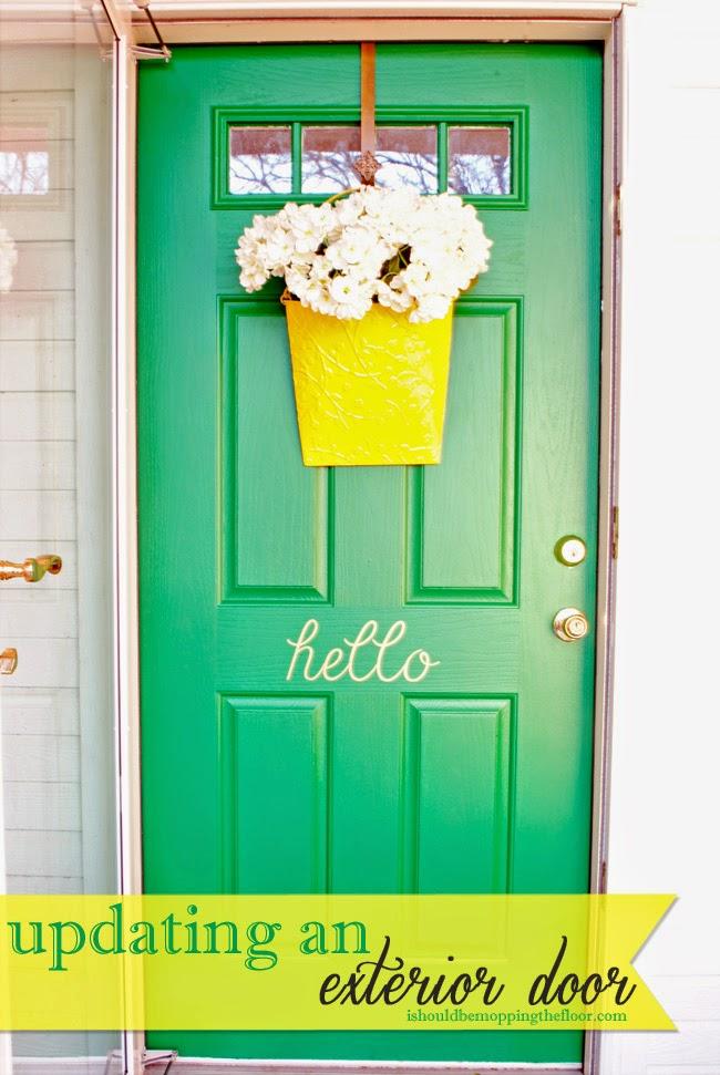 http://www.ishouldbemoppingthefloor.com/2014/04/updating-exterior-door.html