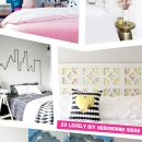 20 Lovely DIY Headboard Ideas