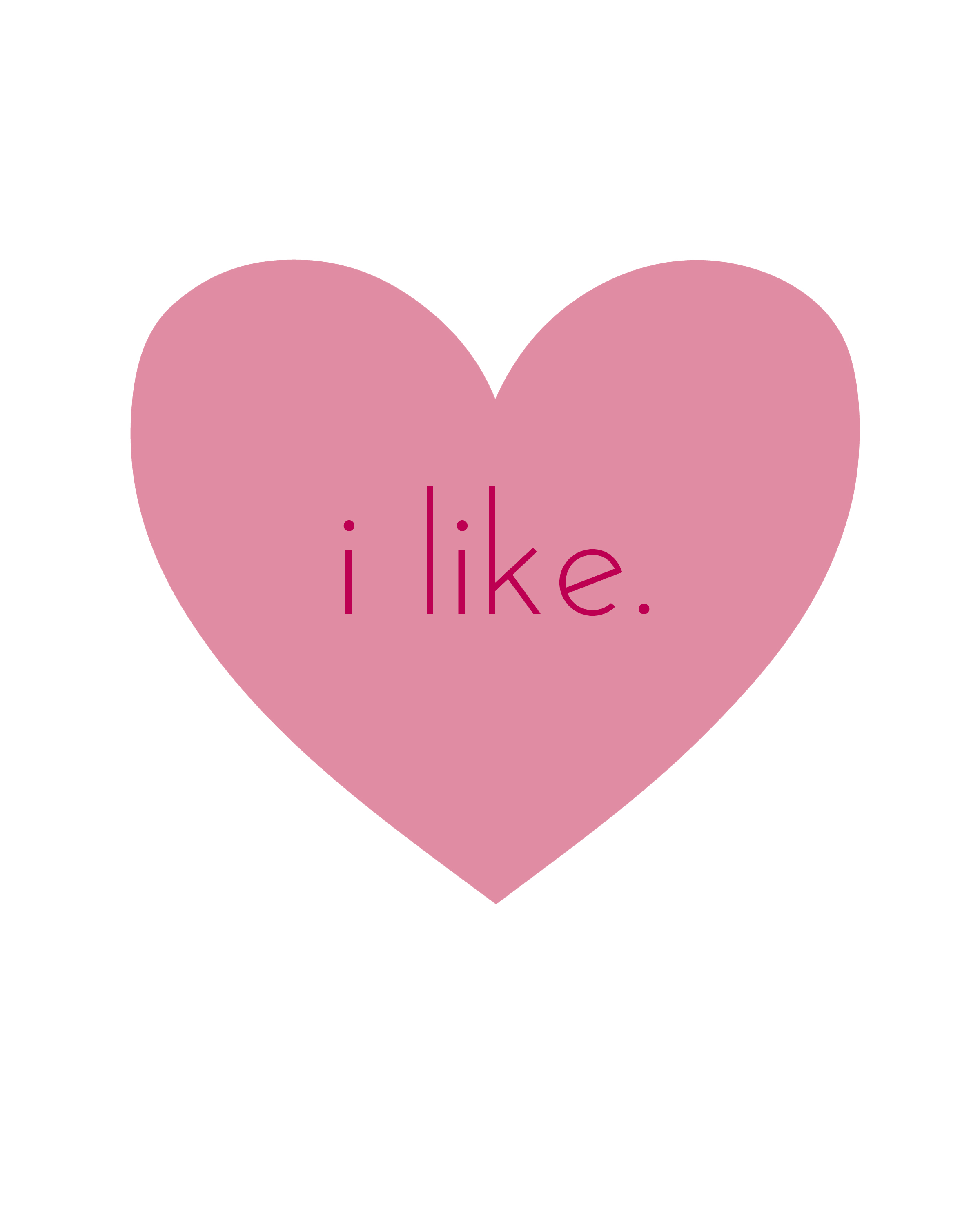 "Like: ""Dislike"" And ""Meh"" Valentine's Day Prints"