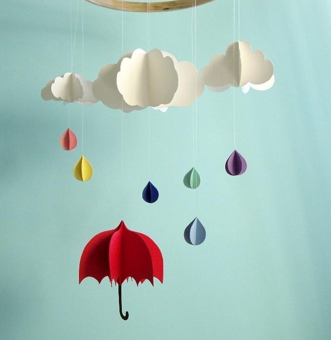 Дождик своими руками поделка