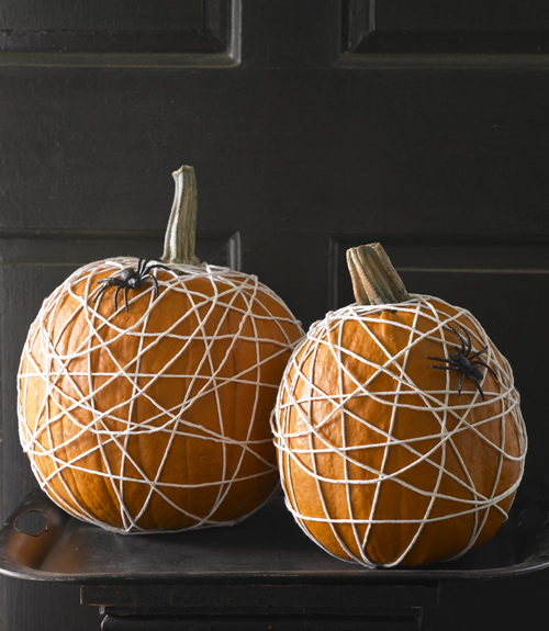 Spider Web Pumpkin