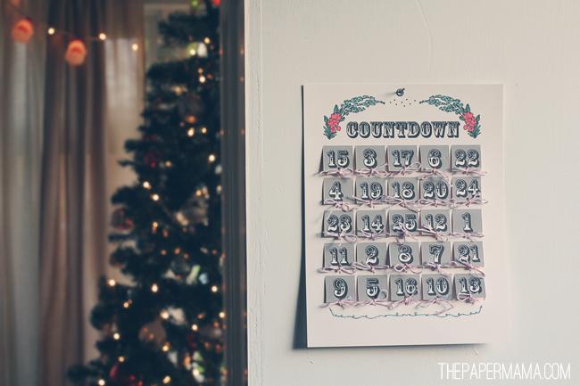 Quiz Advent Calendar // thepapermama.com