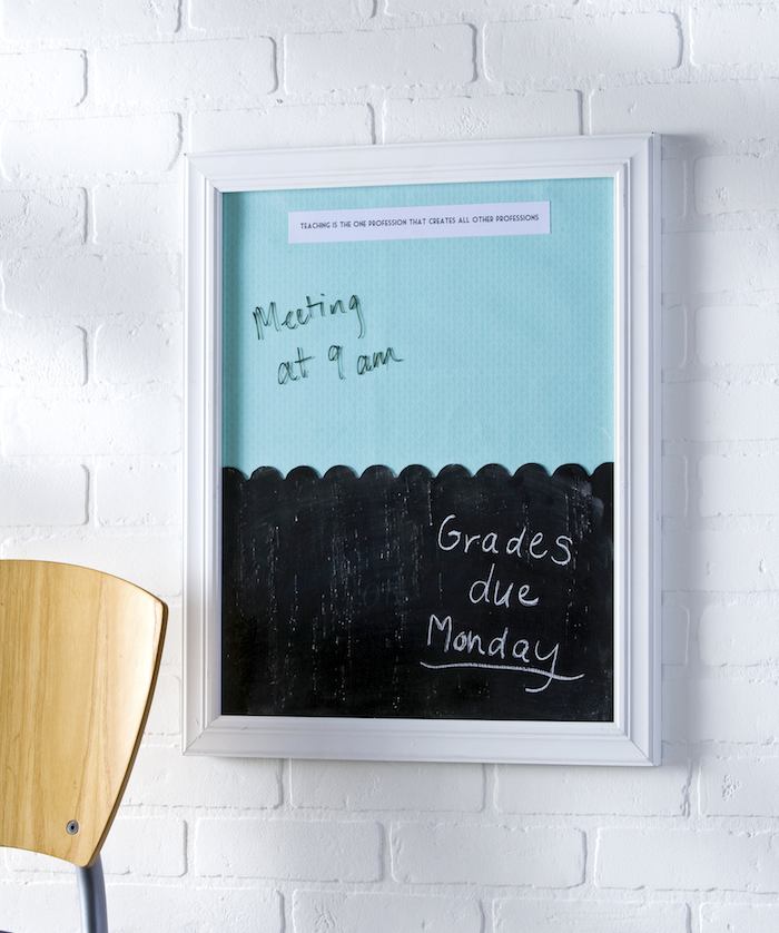 Dry Erase & Chalkboard Frame