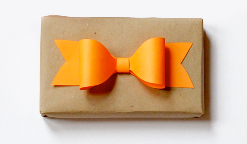 Paper Bow // How About Orange