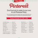 Michaels Pinterest Craft Party