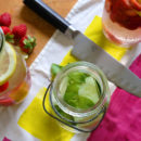 Back to School Infused Water Recipes for kids
