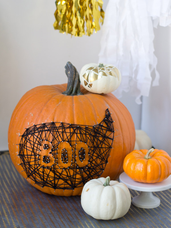 Boo String Pumpkin