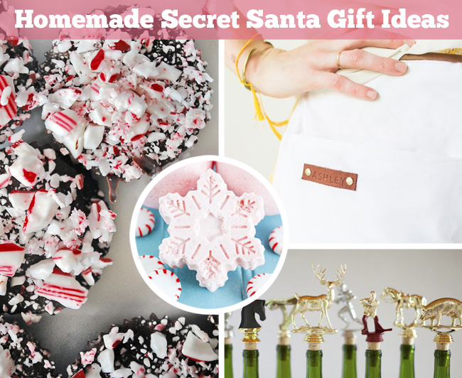 DIY-ify: Homemade Secret Santa Gift Ideas