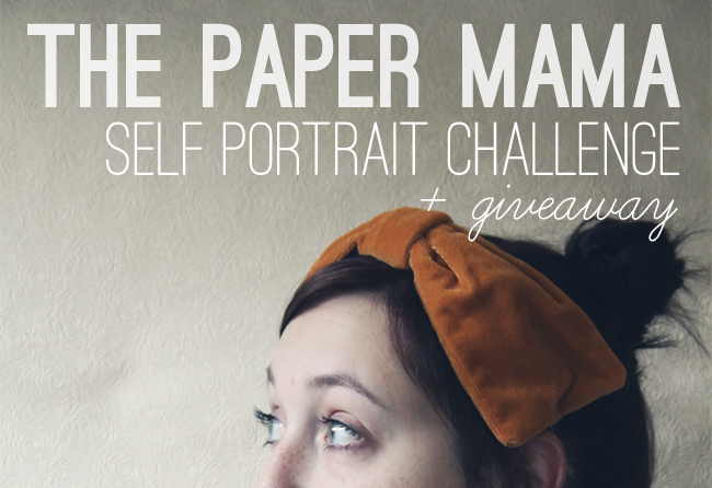 self portrait challenge banner