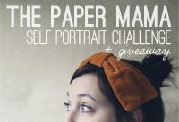 self portrait challenge button