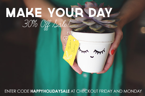 Make Your Day DIY Sale // makeyourdaydiy.com
